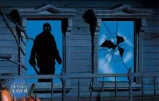 2 x FRIDAY THE 13TH JASON HALLOWEEN WINDOW SILHOUETTES Party Decoration 7325