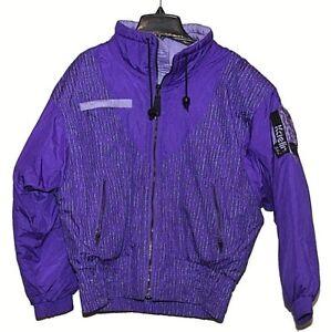 Kaelin 5304 Ski Snowboard Winter Jacket Purple/Black Down Filled Womens Sz 8