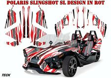 AMR RACING DEKOR GRAPHIC KIT POLARIS SLINGSHOT SL TECK B