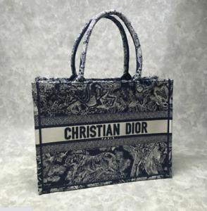 Christian Dior Book Tote Bag Large