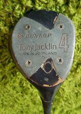 Tony Jacklin Dunlop 4 Wood Golf club