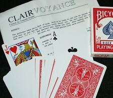 Clairvoyance (Tricks Co, Ltd. circa 1995) - 21st century X-ray deck Tmgs