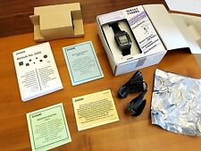 Vintage Casio Watch WQV-1 B/W Camera - NOS - Complete all papers and CD