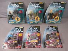 Star Trek SPOCK MILES O'BRIEN BENJAMIN SISKO Warp Factor Series 2 & 3 Lot