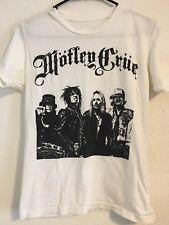 Motley Crue T Shirt Women'S Medium Short Sleeve Vintage Tee Concert Band Group