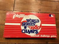 VINTAGE PHILLIES SERIES 1980 CHAMPS BASEBALL CHALLENGE GAME RARE