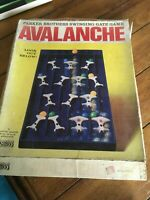 Vintage Retro Parker Games Avalanche Games 5 Marbles Missing Spares or Repair