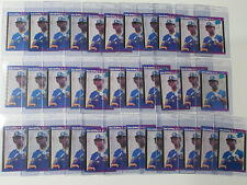 34x 1989 Donruss Ken Griffey Jr Rookie Card #33 Lot Of 34 Reds Mariners HOF