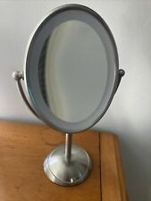 Conair Dual Sided Makeup Mirror 7x Magnification Cordless, Battery,