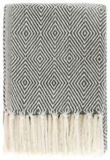 Couvre-lit gris, en 100% coton