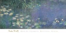 Water Lilies: Morning by Claude Monet Art Print Oversize Poster 60x30