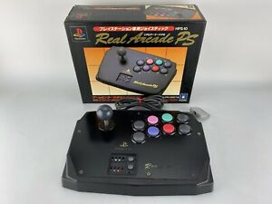 Boxed Hori Real Arcade PS Fight Stick Playstation 1 PS1 PS2