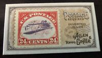 2018 Topps Allen & Ginter's Postage Required Minis Inverted Jenny #MPR-8