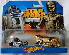 Hot Wheels Disney Star Wars Character Cars 2-Pack R2-D2 & C-3PO