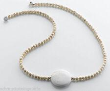 Handgefertigte Modeschmuck-Halsketten & -Anhänger aus Stein mit Achat