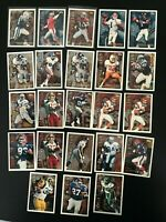 1995 Topps 1000/3000 Lot of (23) Faulk Rice Young + More