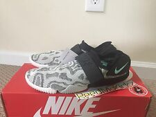 Nike Aqua Sock 360 QS Zebra print 902782 002 Mens size 12 us