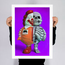 Ron English MC Supersized Dissect Variant Print Poster
