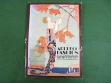 ART DECO FASHION FRENCH DESIGNERS 1908 - 1925 MARTIN BATTERSBY 112 PAGES