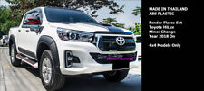 "6"" SMOOTH FENDER FLARES WHEEL ARCHES TOYOTA HILUX REVO 2018 2019"