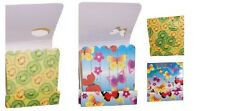 Butterflies & Fruit Mini Nail File Emery Boards in Small Match Stick Packet x 2