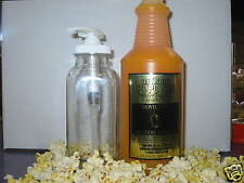 Movie Style Buttery Popcorn Topping Butter Quart W/PUMP