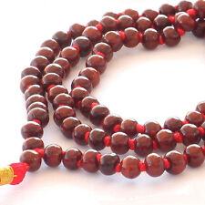 Mala Beads - Rose Wood - Worn for Strenghtening Individual Aura -108+1  beads