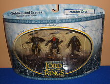 Lord of the Rings Soldiers & Scenes Mordor Orcs 3 Pack MIB