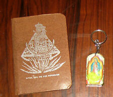 1 Kitsch GUADALUPE Virgin Mary KEY CHAIN & Pocket Mirror from Mexico RELIGIOUS