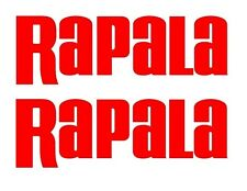Rapala Stickers Decals Large set 2 Bass Catfish Trout Lure Swimbait Windshield