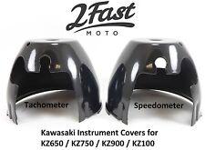Speedometer Tachometer Instrument Lower Base Cover Black Kawasaki KZ 750 900 z1