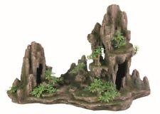 Trixie - 8855 - Décoration D'aquarium - Formation Rocheuse avec Caverne/plante