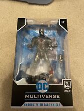 DC Multiverse Cyborg With Face Shield Justice League McFarlane 2021 IN HAND??