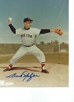 Frank Malzone Boston Red Sox Signed Autograph 8x10 Photo