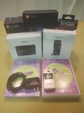 Lot of 8 Flip Cell Phone w/Accessories, Alltel Ax275, MiFi2200, Droid 3 Dock etc