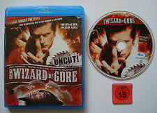 ⭐⭐⭐⭐ SPECIAL UNCUT EDITION ! ⭐⭐⭐⭐  WIZARD OF GORE ⭐⭐⭐⭐ Blu Ray ⭐⭐⭐⭐ FSK 18 ⭐⭐⭐⭐
