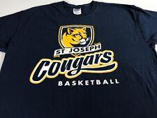 San José Pumas T-shirt talla adulto S/M baloncesto Estudiante Alumnos Escuela Católica
