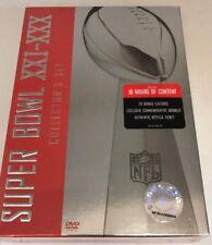 Super Bowl XXI - XXX Collector's Set (DVD) Sealed! Brand New