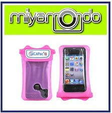 DiCAPac WP-i10 (Pink) Waterproof Case for iPhone 3/iPhone 4/iPhone 5