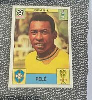 Panini PELE STICKER 1970 FIFA WORLD CUP WCS LIMITED EDITION ABSOLUTE GEM For PSA