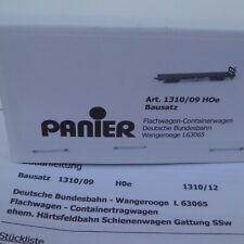 Panier 1310/09 H0e Bausatz Flachwagen (Containerwagen) 63065 der DB-Wangerooge