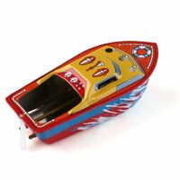 Vintage STEAM BOAT Pop Pop Candles Powered Put Put Ship Collectable Tin Toy