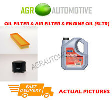 DIESEL OIL AIR FILTER KIT + FS 5W40 OIL FOR RENAULT MEGANE 1.9 80 BHP 2001-03