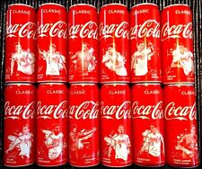 COCA COLA CAN 12 GERMANY SOCCER FOOBALL TEAM COKE UNOPENED EMPTY SPECIAL EDITION