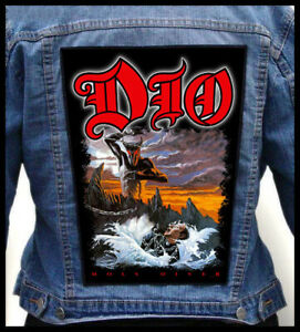 DIO - Holy Diver - Backpatch Back Patch / Rainbow Black Sabbath Heaven And Hell