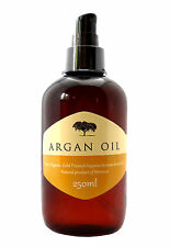 100 Pure Cold Pressed Organic Moroccan Argan Oil Skin Body Hair Nails 250ml