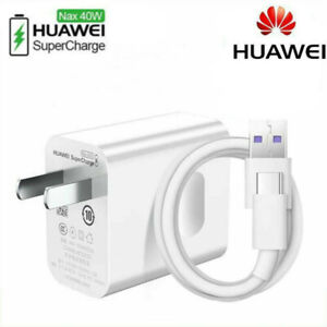 Original HUAWEI Fast Charger Adapter Type-C Cable For P20 P10 Mate 20 9 Pro Lite