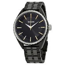 Nixon Minx Black Dial Ladies Steel Watch A934-2126-00