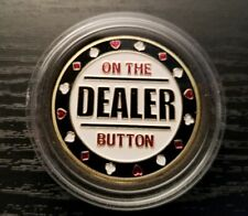 Poker Card Guard - On The Dealer Button - High Quality Premier Edition!!!!