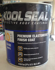 Kool Seal Premium Elastomeric Finish Roof Coating for RV / Camper / Motorhome